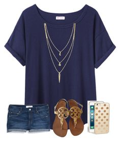 """""""#SMILE"""" by jordynlm on Polyvore featuring Organic by John Patrick, Cole Haan, MANGO, Tory Burch and Kate Spade"""