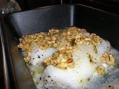 63 grader nord: Ovnsbakt torsk med pinjenøtter og søtpotetpuré