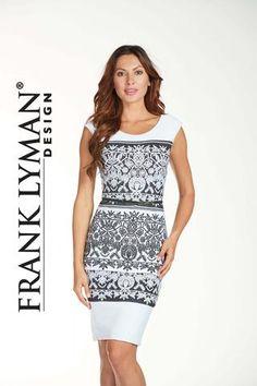 4d3ef91912 Frank Lyman Design. FRANK LYMAN PATTERN DRESS