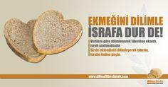 """Ekmek İsrafını Önleme Kampanyası - Kampanya Önerisi ve Tasarımı / Project & Design of """"Preventing Bread Waste"""" Campaign Bread, Graphic Design, Food, Brot, Essen, Baking, Meals, Breads, Buns"""