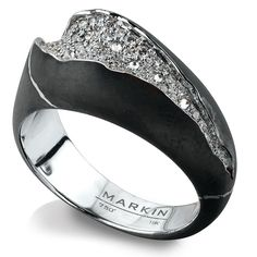 Stone ring with diamonds MARKIN #markinjewellery #markin #маркин