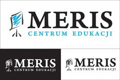 Logo dla Centrum Edukacji Meris. Więcej projektów logotypów na http://www.13design.pl/realizacje-loga/