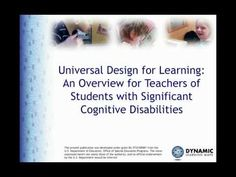 Universal Design for Learning - YouTube