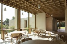 Image 8 of 47 from gallery of Sultan Nazrin Shah Centre / Niall McLaughlin Architects. Photograph by Nick Kane Worcester, Auditorium Seating, Lecture Theatre, Architects Journal, Timber Buildings, Gate House, Architecture Magazines, Light And Space, Learning Spaces