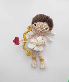 Amor the Cupid amigurumi pattern by zipzipdreams