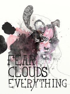 Fear clouds everything. Pop Art