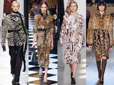 AW16 Fashion Trend Report: The Best Women's Fashion Trends For Autumn 2016 | Marie Claire. Animal Magic  Spot the spots. Are they leopard, cheetah, jaguar, or some other wild cat altogether? But it doesn't matter which print you pick, when designers from Riccardo Tisci at Givenchy, Francisco Costa at Calvin Klein are splicing all of their favourite animal motifs into single looks.