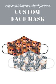 Custom Face Masks / Personalized Face Cover With Any Picture / Funny Quarantine Birthday  Gift #FaceMasks Cool Pictures, Cool Photos, Bad Photos, Anniversary Funny, Family Dogs, Baby Gifts, Birthday Gifts, Dog Cat, Unique Gifts