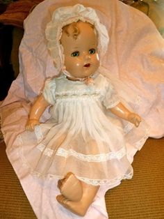 Ideal Baby Beautiful Doll ~ Oh My Gosh!  I had one of these dolls!  I loved her so much! <3