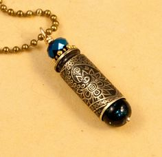etched bullet pendant - Mystic Paisley - bullet casing jewelry. $27.00, via Etsy.