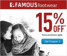 Save 15% At Famous Footwear, FF Outlet Stores, and Online Too!!! | My Pantry Partners