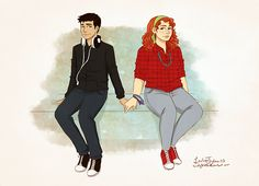 I want everyone to meet you. You're my favorite person of all time.  If you haven't read Eleanor & Park, you don't kn...
