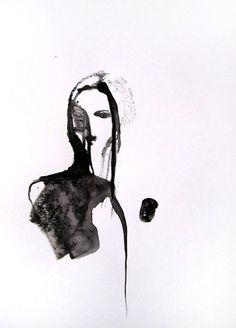 21 x 30 cm ink on paper Canson  Sylvia Baldeva®