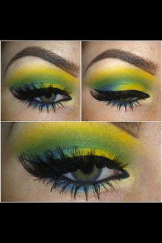 Lime lemon shadow