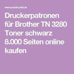 Druckerpatronen für Brother TN 3280 Toner schwarz 8.000 Seiten online kaufen