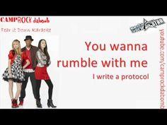 """Camp Rock 2 """"Tear it Down"""" Karaoke HQ + Lyrics On Screen & Download - YouTube"""
