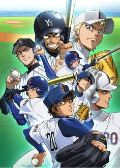 Crunchyroll announced on Tuesday that it will stream Ace of Diamond: Second Season (Daiya no A ~Second Season~) anime series. The stream will be available worldwide except for Asia starting on April 6 at 6:30 a.m. EDT.
