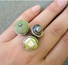 Sea Urchin Ring. Awesome!
