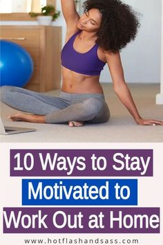 Working out at home isn't easy. But these tips will help you stay motivated and consistent to be successful in your at-home workouts.