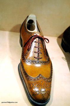 The Shoe AristoCat: The Japanese bespoke shoemaker (Hidetaka Fukaya) Mens Shoes Boots, Shoe Boots, Ascot Shoes, Formal Shoes, Casual Shoes, Dandy, Gentleman Shoes, Fashion Shoes, Mens Fashion