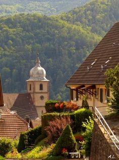 Saint-Amarin, Village d'Alsace, France