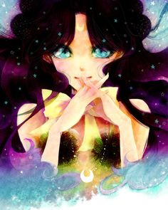 best fanart of luna i have ever seen!!   Luna - Sailor Moon Obsession
