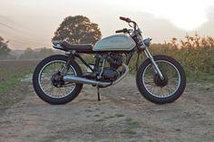 HONDA CG125 http://www.ingloriousmotorcycles.com/honda-cg-125/