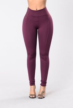 ELECTRIC FEEL PANT - WINE #style #fashion #trend #onlineshop #shoptagr