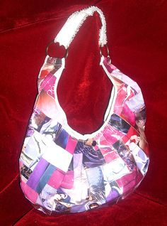 Bolso redondo grande by Sweet Wings- Diseño, via Flickr