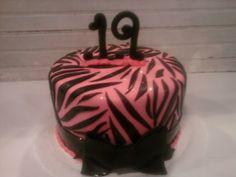 Zebra Cake Creative Kitchen Ft. Smith AR