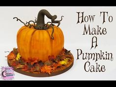Fall is here and so are the pumpkins. Why not celebrate the season making pretty pumpkin cakes. Here are some simple, easy carved pumpkin cake tutorial that Pumpkin Shaped Cake, Iced Pumpkin Cookies, Pumpkin Bundt Cake, Pumpkin Cake Recipes, Pumpkin Spice Cake, Pumpkin Dessert, A Pumpkin, How To Make Pumpkin, Pumpkin Carving