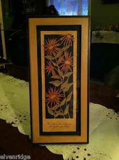 Be close to heaven in your garden flower paper cutting ... click through photo to purchase.
