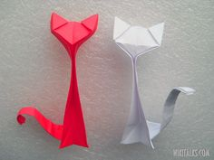 Origami Cats | How to make an origami cat out of paper | Articles & Overviews | Wiki ...