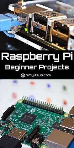Raspberry Pi projects that are perfect for any beginner. Especially good if you're not comfortable with programing and Linux commands. http://amzn.to/2spCmml