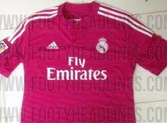 La segunda equipación del Real Madrid en la 2014/15 será rosa chicle - Terra España
