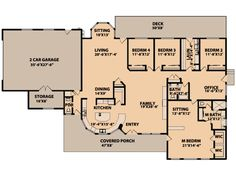 Plan #515-9 - Houseplans.com needs a few changes but could work