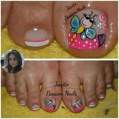 Different Nail Designs, Pedicure, Nail Art, Veronica, Nails, Thalia, Erika, Triangles, Crochet