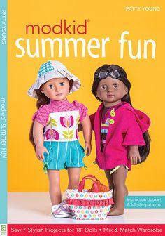 modkid summer fun by patty young fun in the sun 18 dolls