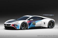 Modern BMW M1 Design Study