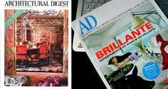 """Architectural Digest started in America and was originally called """"A Pictorial Digest of California's Best Architecture"""" and it was a truly serious design magazine, focused on architecture and on the trade involved."""