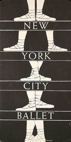Edward Gorey went to every NYC Ballet performance until his death...or many...I'm not to sure about all.