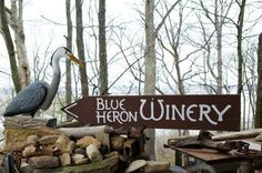 Blue Heron Winery in Perry County, Indiana