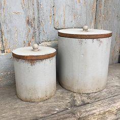 FidArt / nádoby na čaj biele