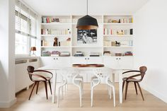 CIRCUS pendant in a Scandinavian dining room, by CDA Design, Paris  http://www.innermost.net/wp/circus