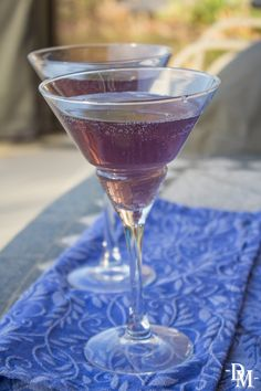 Used for attracting good fortune or warding off evil, gris gris(pronounced gree-gree) are talismans originating in West Africa and also found in New Orleans. Serve this very floral cocktail with a deep purple hue and let your guests wonder how you do the voodoo that you do.  GET IT  1 ounce creme de violet 1 ounce St. Germaine 1 ounce grapefruit juice 2 ounces gin 3 dashes lavender bitters  Ice  MAKE IT Pour all ingredients into a pitcher. Add ice and stir. Pour into chilled martini glass…
