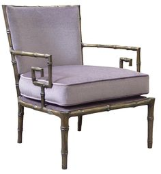 Hollywood Luxe Purple Bamboo Chair Luxury Interiors, Designer Furniture & Beautiful Home Decor Enjoy & Be Inspired More Beautiful Hollywood Interior Design Inspirations To Repin & Share @ InStyle-Decor.com Beverly Hills Happy Pinning