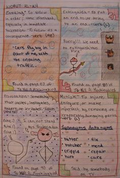 Always Write: A Writer's Notebook Lesson and Teacher Model!