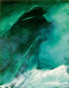 Waves, Museum, Contemporary, Abstract, World, Artist, Oil Paintings, Outdoor, Austria