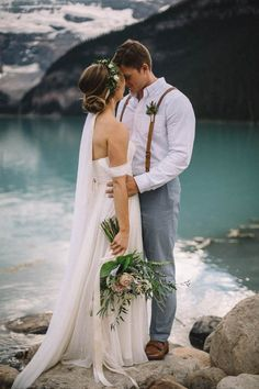 Breathtaking Canadian Elopement at Lake Louise | Image by My Canvas Media