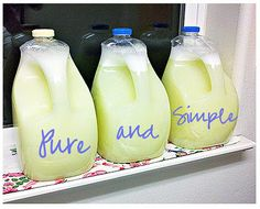 The Complete {Photo} Guide to Making Your Own Homemade Laundry Detergent!